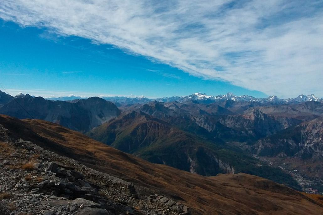 Bardonecchia dal Monte Jafferau
