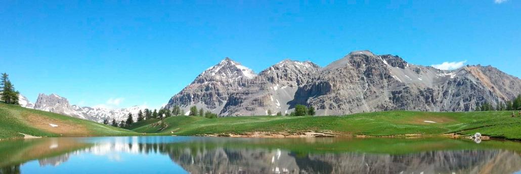 Lago alpino nei pressi di Bardonecchia