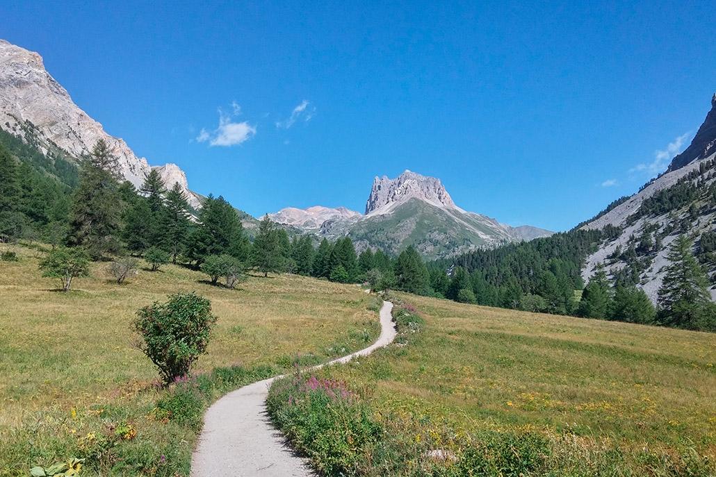 Il monte Tabor in Valle Stretta