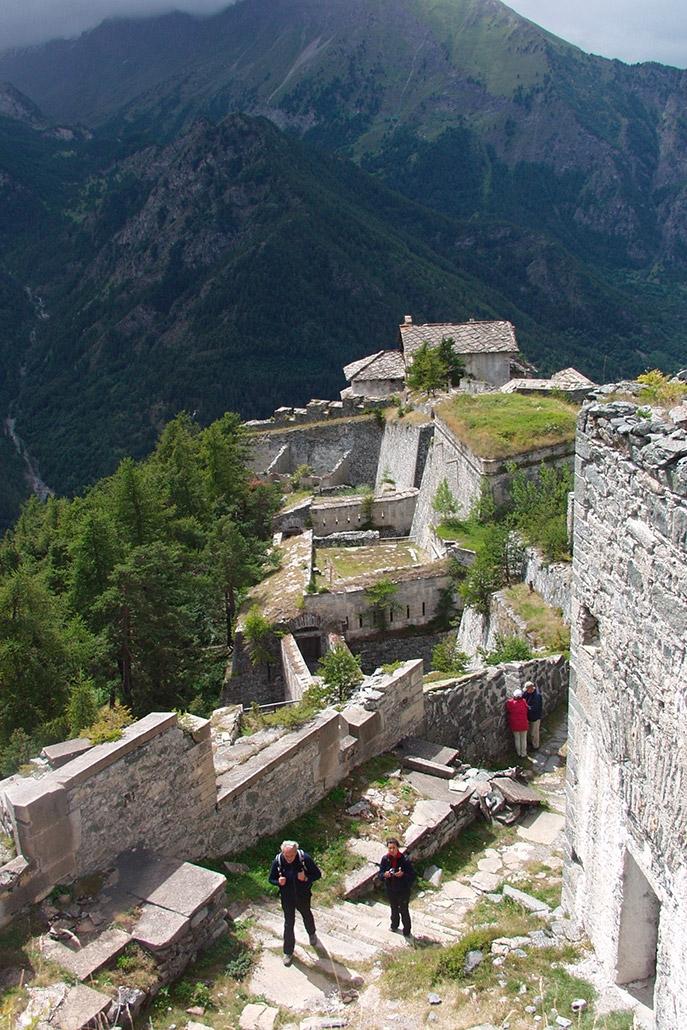 In escursione al Forte di Fenestrelle