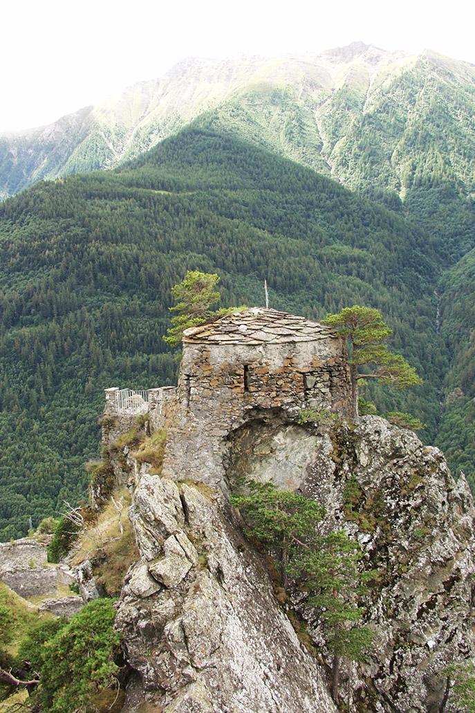 Garitta del Diavolo al Forte di Fenestrelle