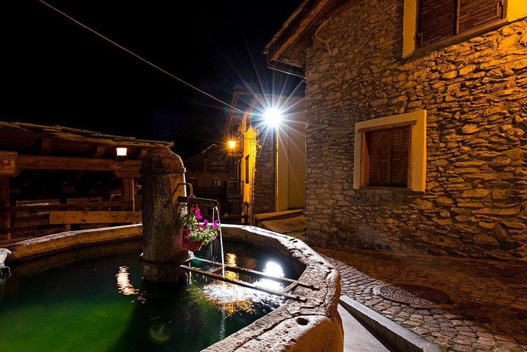Una delle fontane di Jouvenceaux